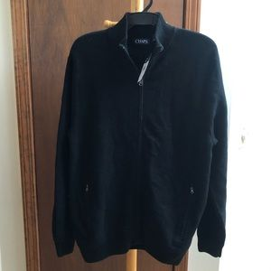 Chaps Men's Black Sweater